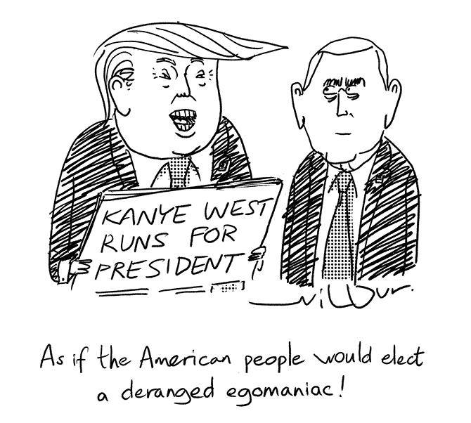 Wilbur - Top pol Trump