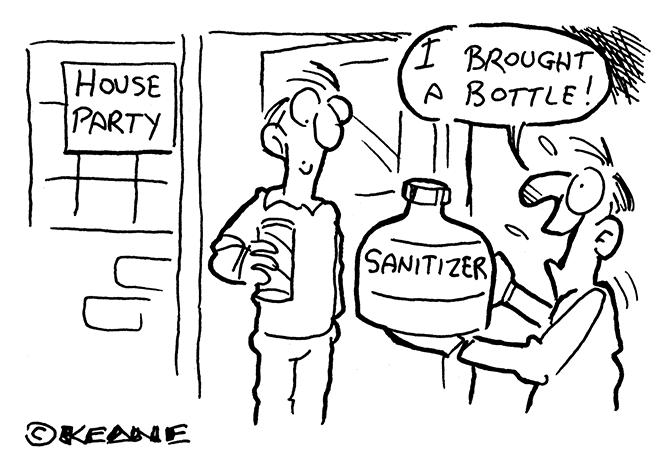 Keane - Brought a bottle