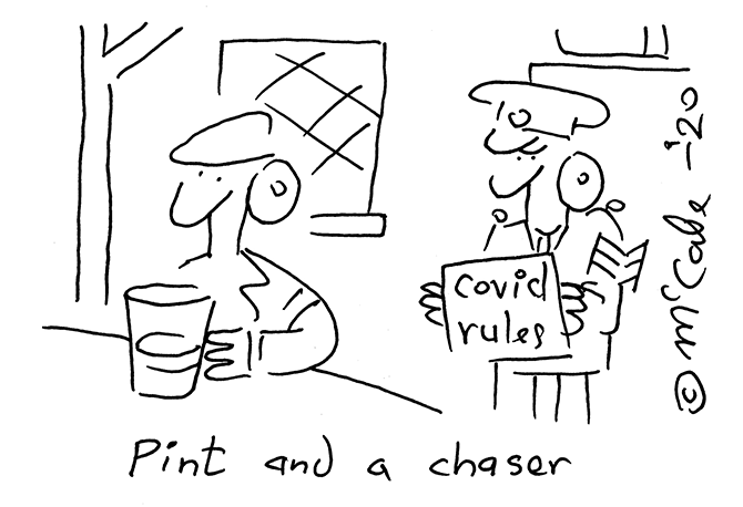 McCabe - Pint and chaser
