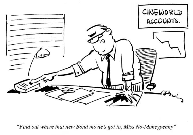 Dowling - Bond movie revised