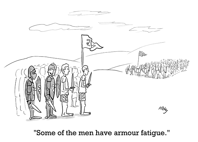 Kickey - Armour fatigue