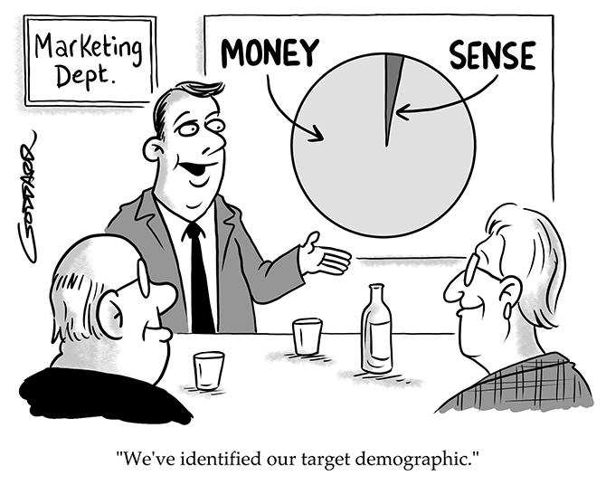 Goddard - More money than sense