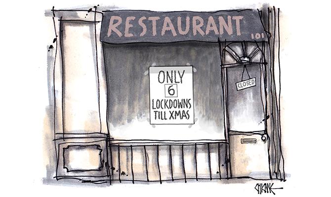 Shank - 6 lockdowns