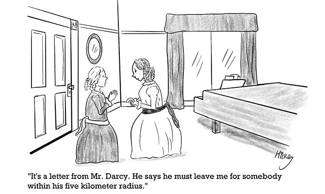 Hickey - Mr Darcy