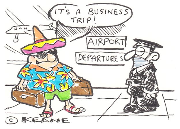 Keane - business trip
