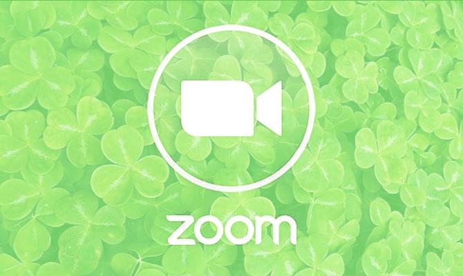 zoom shamrock