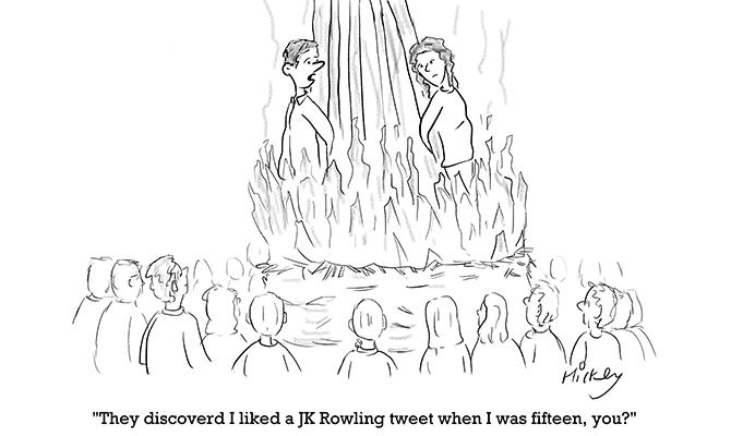 Hickey - JK Rowling tweet