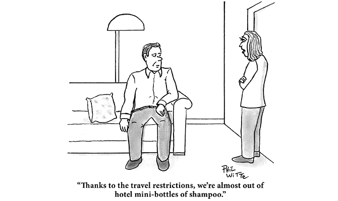 Phil Witte - travel restrictions