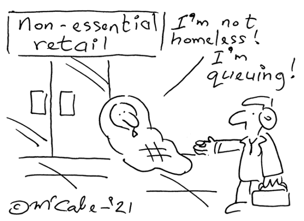 McCabe - non-essential retail