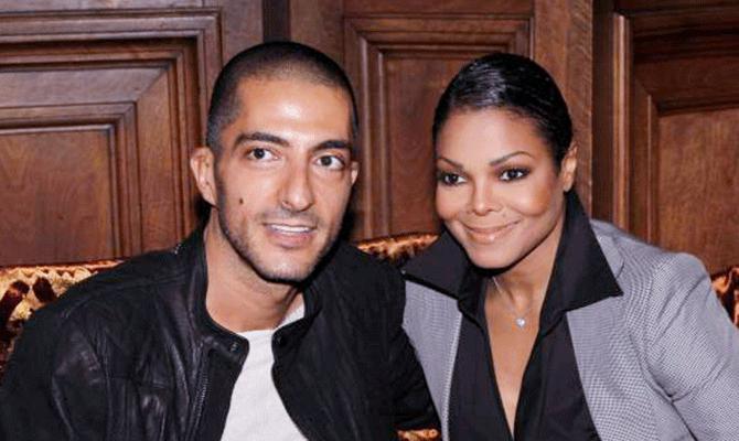 Wissam Al Mana and Janet Jackson