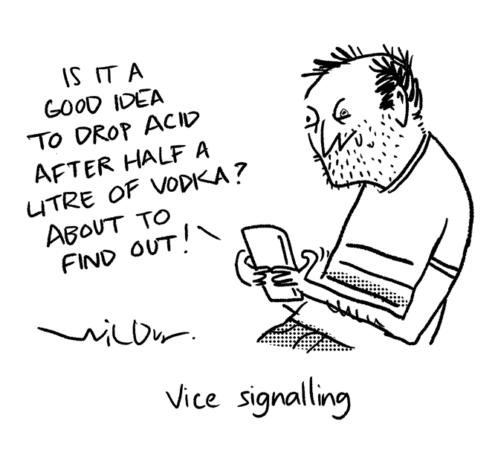 Wilbur - vice signalling