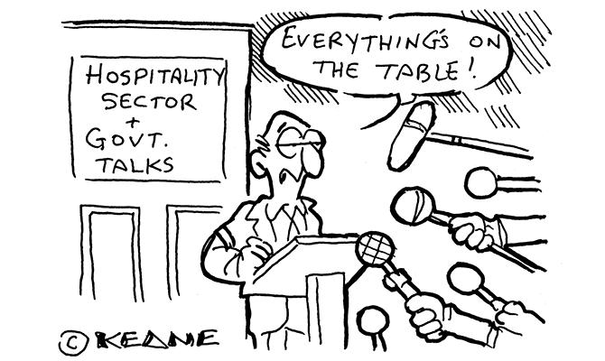 Keane - hospitality sector