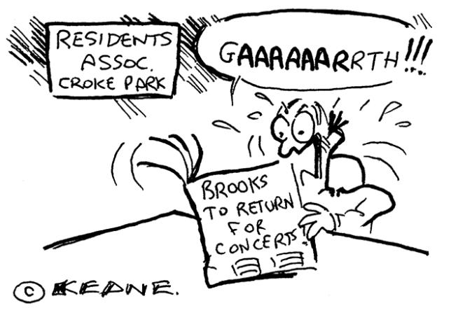 Keane - brooks to return