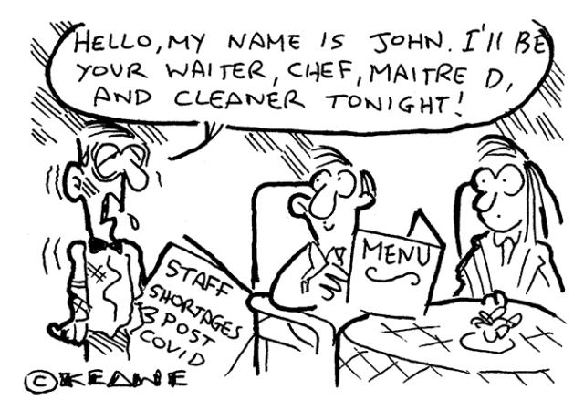 Keane - staff shortages