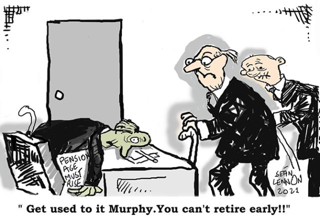 Lennon - Pension age