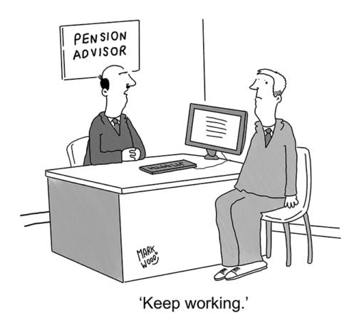 Mark Wood - Pension advisor