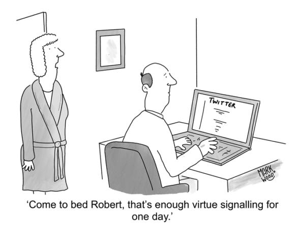 Mark Wood - Virtue Signalling