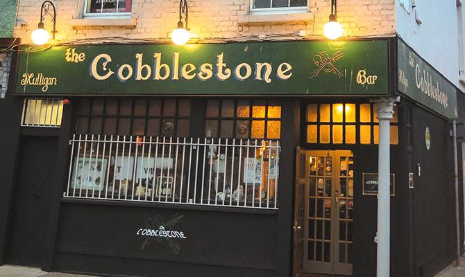 Cobblestone pub