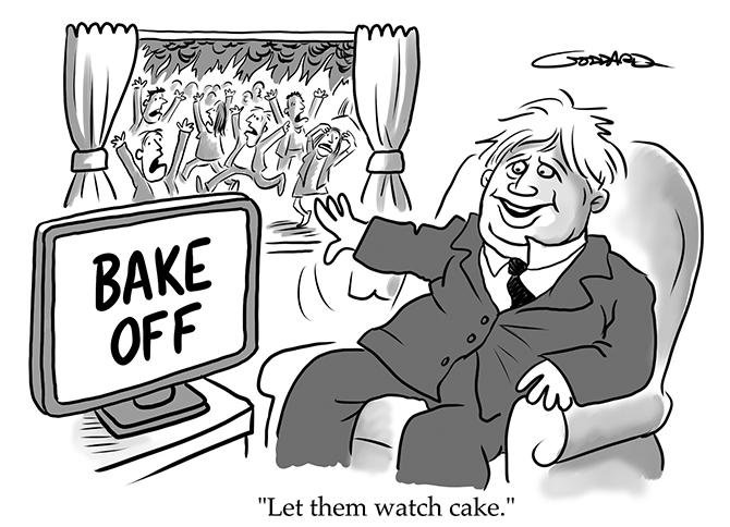 Goddard - Let them watch cake