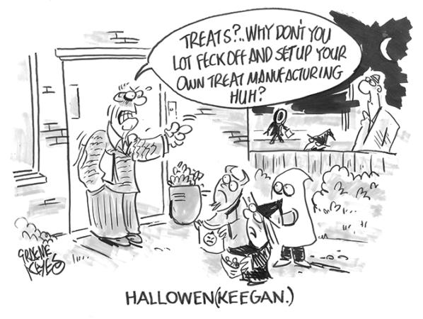 Keyes - Halloween Keegan