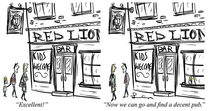 Len - kids welcome